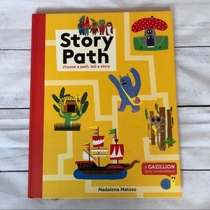 Story Path book; choose a path, tell a story